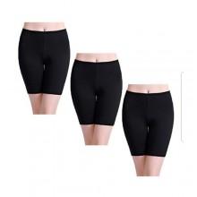 3 Piece Underwear Shorts - Black