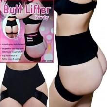 Butt Lifter Panty & Tummy Control Body Shaper - Black