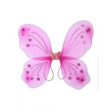 3-in-1 Butterfly Costume Wings Set - Pink