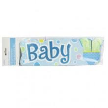 Baby Shower 3D Centerpiece - Blue