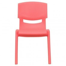 Kids Plastic Chair - Red