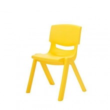 Kids Plastic Chair - Yellow