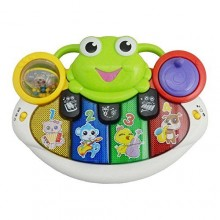 2in1 Projection Frog-Piano - Multicolor