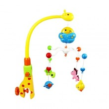 Electronic Spinning Crib Animals Baby Toy - Multicolor