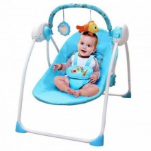 Musical Baby Swing/Rocker Chair - blue