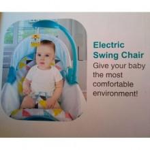 Electric Baby Rocker - Green