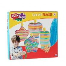 Kids play and Learn Sand Art Playset - Multicolour