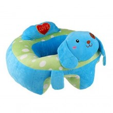 Comfortable Baby Sofa Seat - Blue/Multicolour