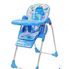 Children Feedind High Chair - Multicolour