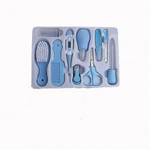 Quality Baby Grooming Kit - 10 Pieces Blue