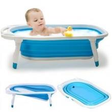 Baby Folding Bathtub - Blue