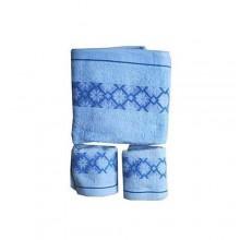 Baby Bath Towel - Blue