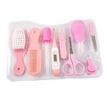 9 Pcs Baby Grooming Kit - Pink