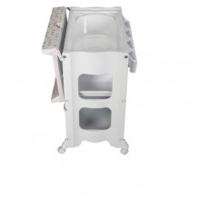 Baby Unique All In One Changer, Bath and Storage Unit - White