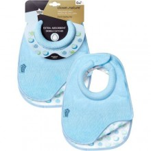 tommee tippee 2 Pieces Closer To Nature Milk Feeding Bibs - Blue /Multicolour