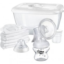 tommee tippee Manual Breast Pump - White