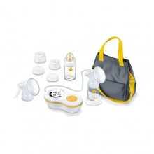Beurer BY60 Breast Pump Full Set - White/Yellow