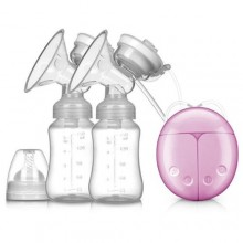 Effective Electric Double Breast Pump - 150ml - White