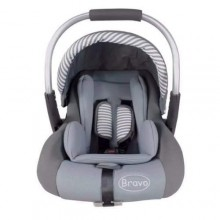 Bravo Beautiful & Comfy Baby Car Seat - Multicolour