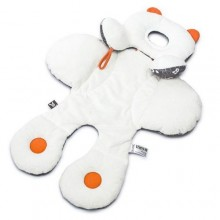 Baby Car Seat/Support Safety - White/Orange