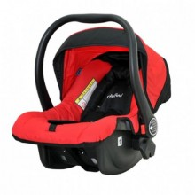 Baby Car Seat Carrier - Black/Red