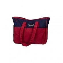 Diaper Bag Sets - Wine Red/ Blue