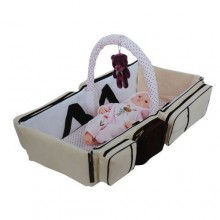 3-in-1 Baby Travel Bag - Brown