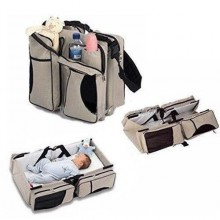 Baby Bed & Bag - Cream