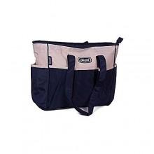 5-In-1 Portable Diaper Bag Sets - Brown/Multicolour