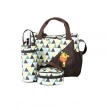 Diaper Bag Confort Diaper Bag Set - 5 Pieces - Multicolour
