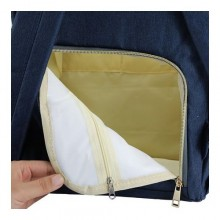Living Traveling Share Multifunctional Diaper Bag -Navy Blue
