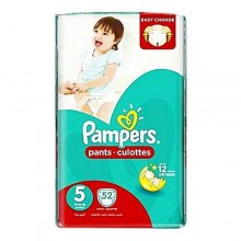 Pampers Pants Diapers, Junior - Size 5 - 52 Count