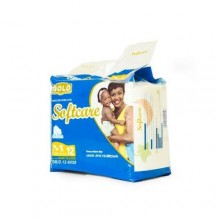 Softcare A Baby Diapers - Medium - 12 Counts