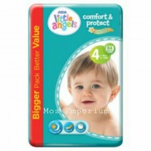 LITTLE ANGELS Baby Diaper Size 4 Jumbo Pack - 84 count
