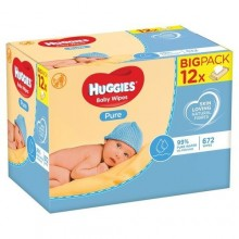 Huggies QualityPure Baby Wipes - Big Pack - 672 Count
