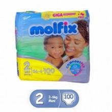 Molfix Diapers - Size 2 - 100Pcs