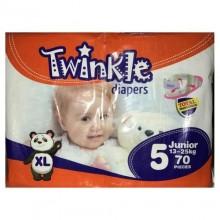 Twinkle Baby Diapers - Junior - 13-25kg - 70 Counts
