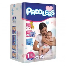 Paddlers Maxi Premium Diapers - Eco Pack (Size 1) - 0-3 month - 48 Counts