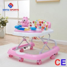 3 in 1 Baby Walker - Pink/White