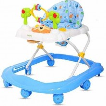 3-in-1 Baby Walker - Blue/White