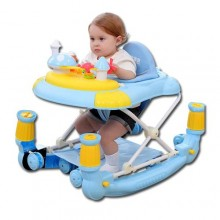 Multi-Function Baby Walker/Rocker - Blue
