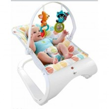 Relaxed Baby Bouncer - White