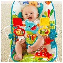 Baby Rocker/Bouncer + Free Socks - Multicolour