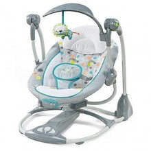Convertible Portable Baby Swing - Multicolour