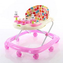 3-in-1 Adjustable Toddler Walker - Pink