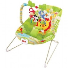 Fisher Price Rainforest Toddler Rocker/Bouncer - Multicolour