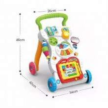 Huanger Muliti-functional Music Push Walker - Multicolour