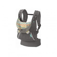 Infantino Baby Hooded Carrier - Grey