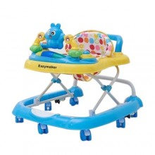 3 in 1 Baby Walker - Blue/Multiclour