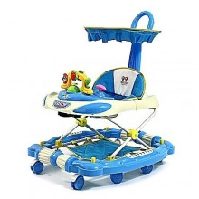 3-In-1 Baby Walker/Bouncer - Blue